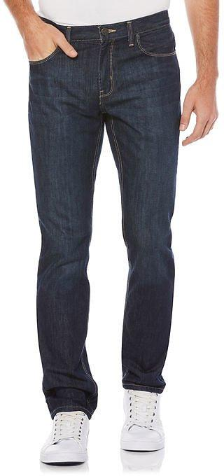 Slim Fit  Perry Ellis Denim Fabrication Men Trouser