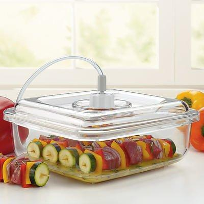 Stain Resistant Odor Proof Food Saver Quick Marinator