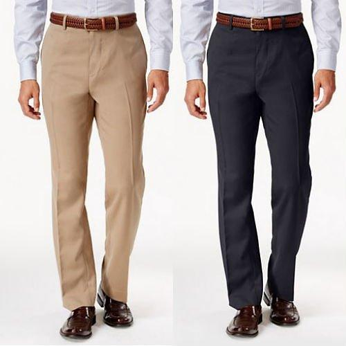 Straight Fit Imported Hidden Extention Dress Pants