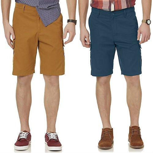 Relaxed Fit Styled Men Cargo Shorts