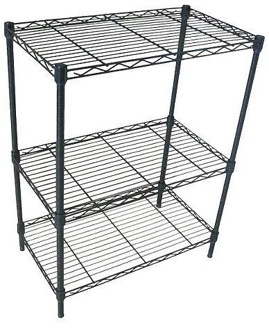 Adjustable 3 Tier Wire Shelving Plus Free Shipping