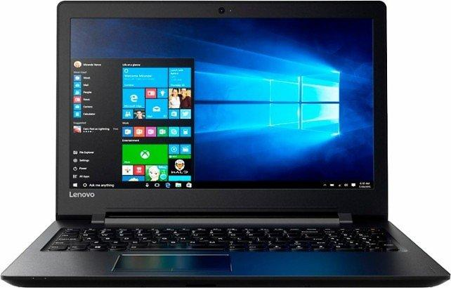Black Lenovo 15.6 Inch AMD A6 Series 4GB Memory Laptop