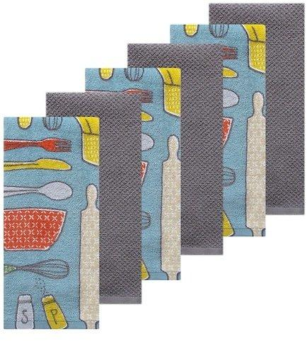 The Big One 6 Piece Kitchen Towel Set