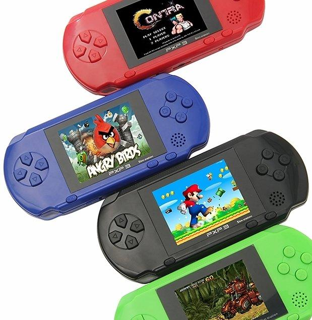 Rechargeable Portable Handheld Video Game System