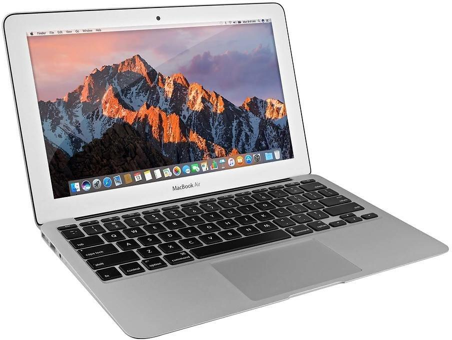 Silver Certified Refurbished Apple MacBook Air 11.6 Inch Laptop