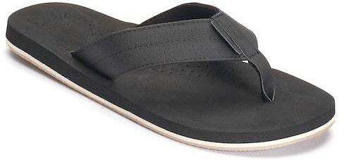 Men Dockers Perforated Strap Flip Flops