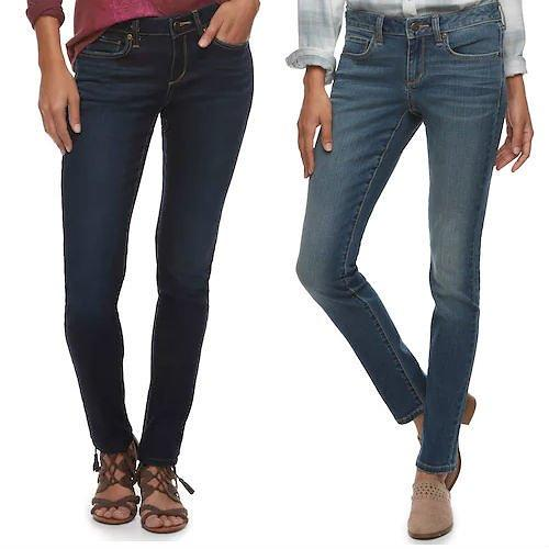 Women Sonoma Stretch Skinny Jeans