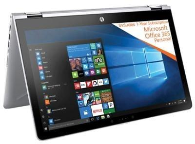 Ultra Modern 15.6 Inch Touchscreen HP Pavilion Convertible Laptop