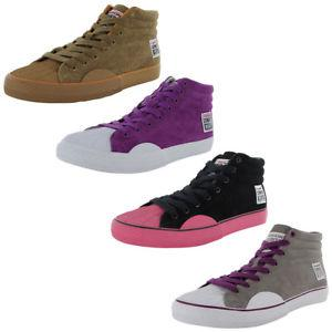 Vision Street Wear Womens Suede Hi Retro Skate Shoe