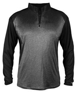 Badger Sportswear Men's New Self Fabric Polyester Sport 1/4 Zip Pullover. 4394