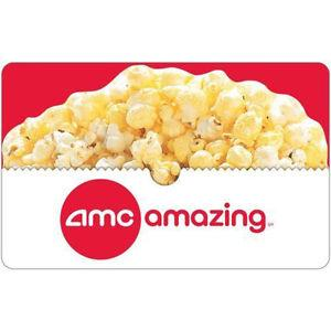 Buy a $25 AMC Theatres Gift Card & get a bonus $5 code - Email delivery