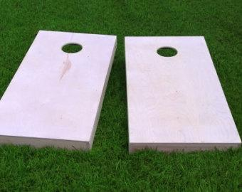 Finished & Non Painted 2x4 Frame Cornhole Boards (SAME Day Shipping)  DIY Corn Hole Boards   Corn Toss   Bag Toss    UnPainted   Plain