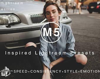 M5 VSCOCam Inspired Moody & Warm Lightroom Preset Professional Film Filters by Filter Collective