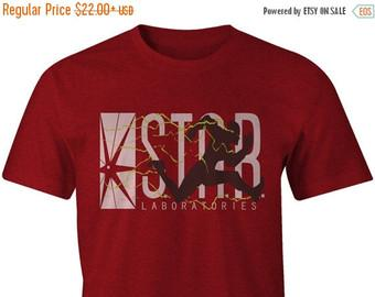 SALE TODAY The Flash Inspired Star Labs Men's Tee