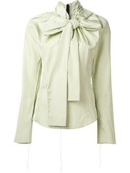 Marc Jacobs - oversized bow blouse
