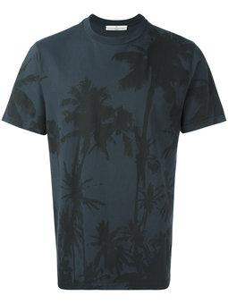 Golden Goose Deluxe Brand - palm tree print T-shirt