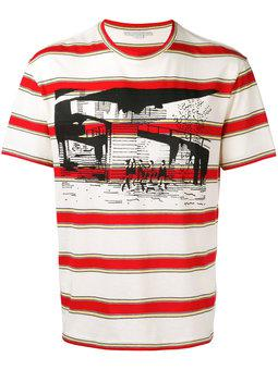 Stella McCartney - striped graphic T-shirt