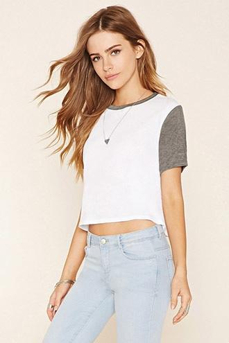 Boxy Colorblocked Tee