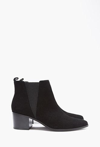 Genuine Suede Chelsea Boots