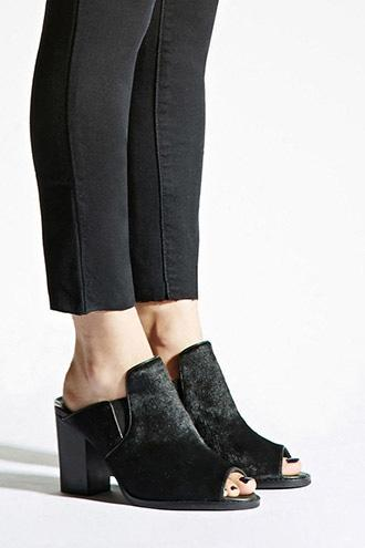 Sol Sana Lottie Pony Hair Mules