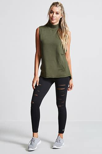 Active Raw-Cut Pullover