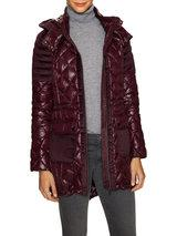 Belle by Badgley Mischka Outerwear - Cassy Quilted Zip Coat