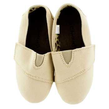9 - 10 Canvas Slip-On Shoes - Toddler
