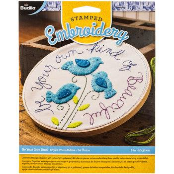 Be Your Own Kind Of Beautiful Stamped Embroidery Kit