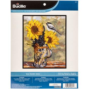 Sunny Counted Cross Stitch Kit
