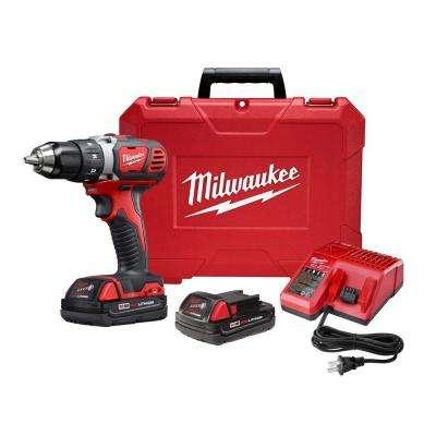 Milwaukee M18 18-Volt Lithium-Ion 1/2 in. Cordless Drill Driver Compact Kit