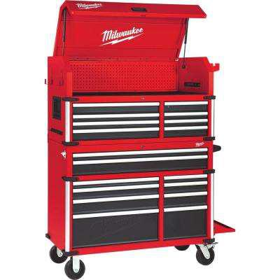 Milwaukee 46 in. 18-Drawer Tool Chest and Cabinet Combo