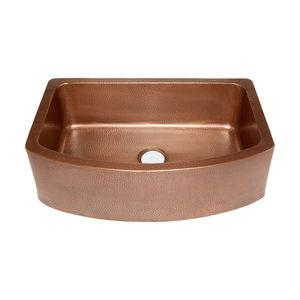 Ernst Farmhouse Sink, Copper, 33