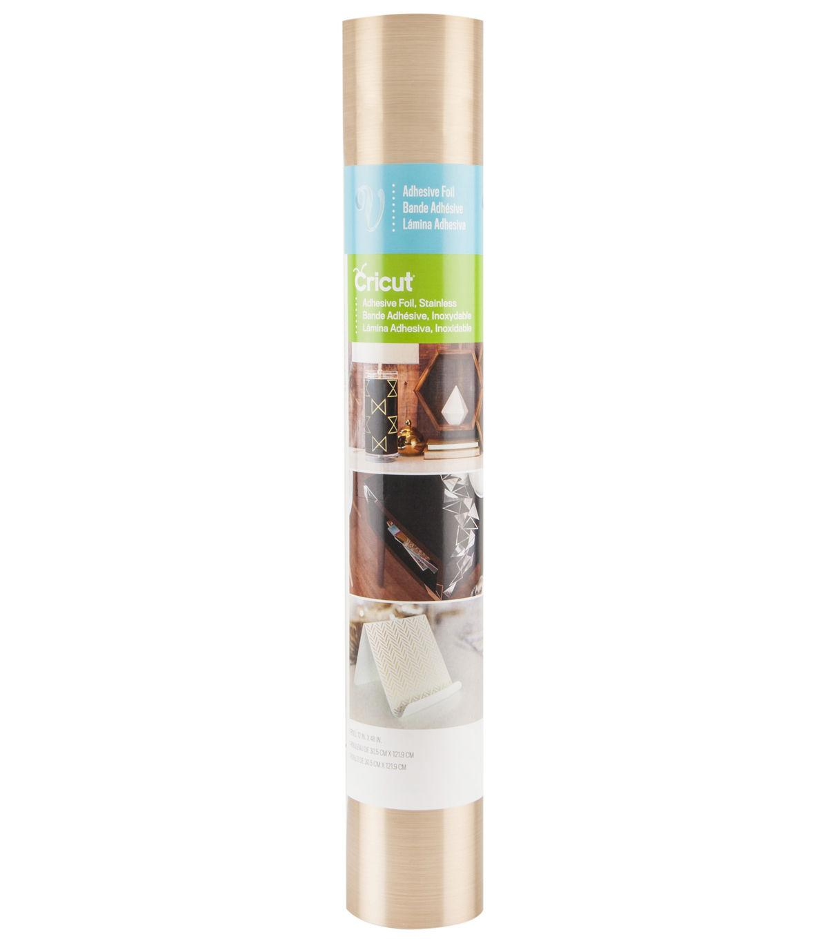 Cricut® Adhesive Foil Stainless Gold 12X48