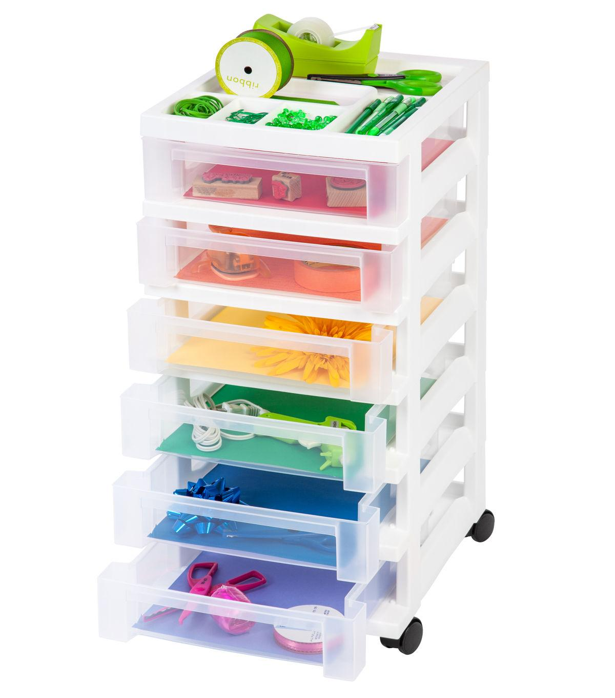 IRIS® 6-Drawer Cart