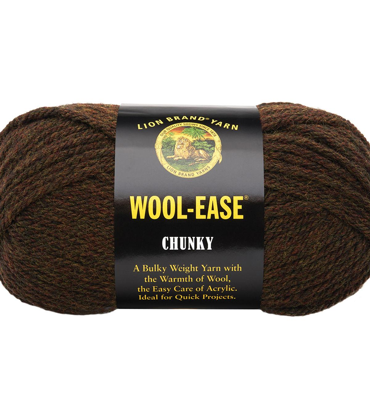 Wool-Ease Chunky Yarn-Walnut