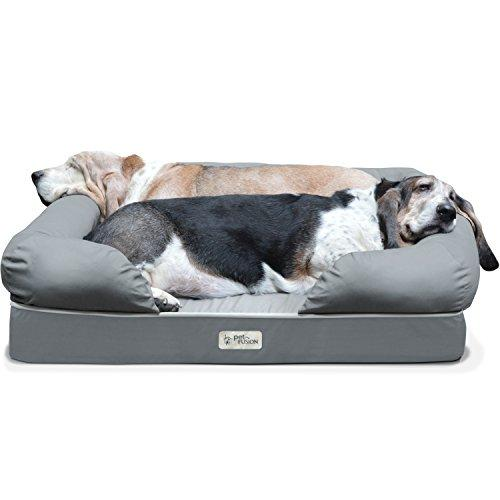 PetFusion Ultimate Water Resistant & Tear Resistant Cover Pet Bed & Lounge