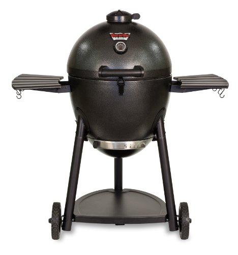 Char-Griller 16620 Akorn Kamado Kooker Charcoal Barbecue Coated Steel Grill & Smoker