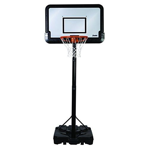 Durable Classic Rim Full Size Hard Court Portable Franklin Sports Basketball System
