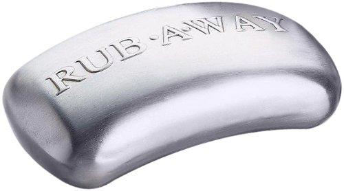 Stainless Steel Quick And Easy Clean Up Amco Rub-A-Way Bar