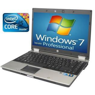 HP REFURBISHED HP EliteBook 8440p Core i5 2.4GHz 4096MB 250GB DVDRW Win 7  Laptop Notebook