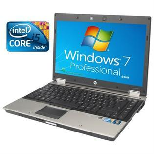 HP EliteBook 8440P Laptop Intel i5 4GB 250GB  Wireless Win 7 Pro (Refurbished) Free Screen Cleaner