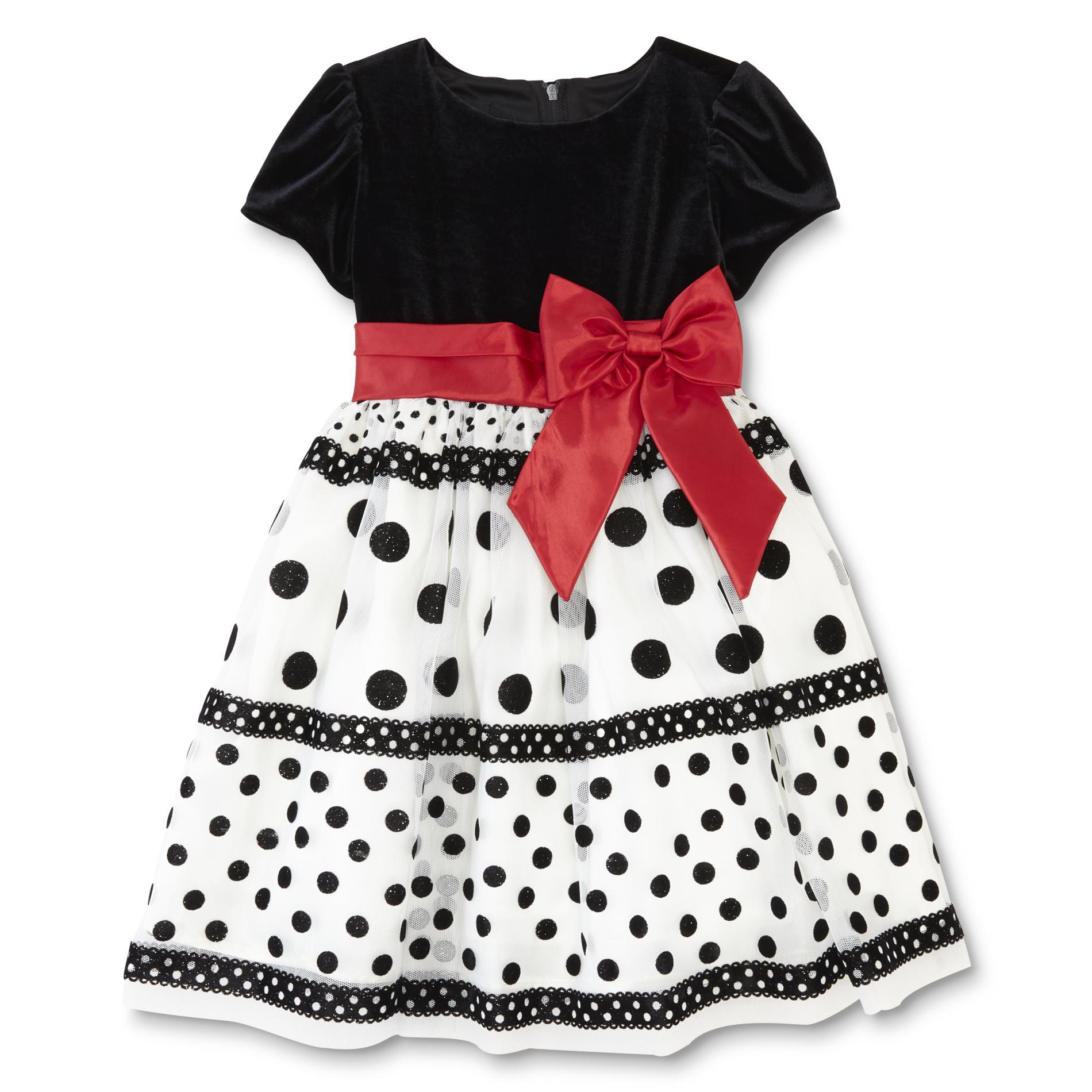Holiday Editions Infant & Toddler Girls' Party Dress - Dots