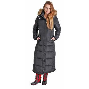 Canada Weather Gear Women's Faux Goose Down Heavyweight Jacket Coat
