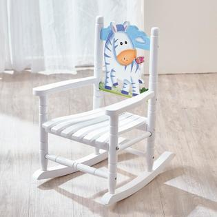 Teamson Design Corp Fantasy Fields Rocking Chair - Zebra