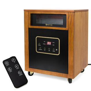 XtremepowerUs 1500W Portable Space Heater w/ Remote