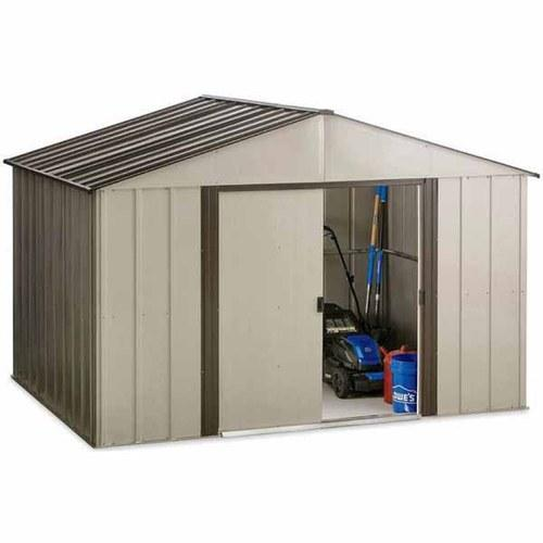 Highpoint Galvanized Steel Storage Shed Common 10 X 8 Interior Dimensions 9 85