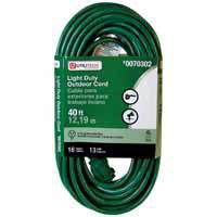 Utilitech 40-ft Outdoor Extension Cord