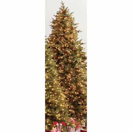 Holiday Living 9-ft Hayden Pine Pre-Lit Artificial Christmas Tree