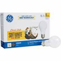 GE 8-Pack 60-Watt Equivalent (8W) Soft White Indoor LED Light Bulbs