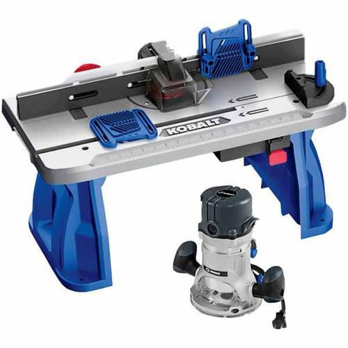 Kobalt 12-Amp Corded Router and Table Combo